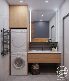 Laundry Room Layouts, Laundry Room Design, Bathroom Layout, Bathroom Interior Design, Modern Bathroom, Small Bathroom, Laundry Bathroom Combo, Laundry Room Bathroom, Bathroom Toilets