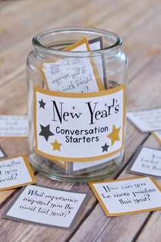 New Year's Family Conversation Starters