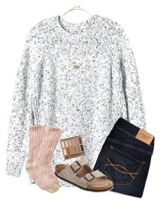 """""and nothings ever good enough, i wrote a little song for ya"""" by samanthars ❤ liked on Polyvore featuring Rebecca Taylor, Abercrombie & Fitch, Birkenstock, Kendra Scott and Urban Decay"