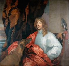 James Stuart, Duke of Richmond - Anthony van Dyck - 1637 (A cousin of Charles I of England).