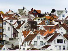 Photo: Angel Torres   Beautiful houses of Stavanger.