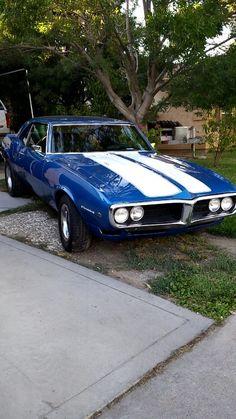 My dad's 1968 Firebird