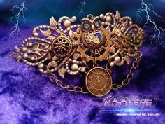Steampunk hooters entwined bronze owl hair by SteampunkHooters, £19.99