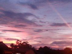 Senja di sore hari