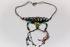 Handmade sophistcated  beads necklace by HelioNiki on Etsy