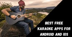 Top 10 Best Free Karaoke Apps For Android and iOS 2020 Indian Bollywood Songs, Voice Effects, Karaoke Songs, Song Playlist, Android Apps, Ios, Singer, Free, Singers
