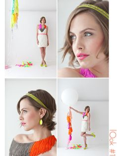 W.F: Neon wedding inspiration