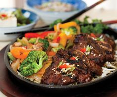 We usually go to Mijuri Sushi Bar & Grill (2710 S. Campbell Ave., Springfield, 417-889-9593) for sushi, but we've recently discovered a new non-sushi favorite: kalbi short ribs. These super-tender hunks of meat are cooked to perfection and fall right off the bone. They're topped with a barely sweet, barely there sauce that is so satisfying.