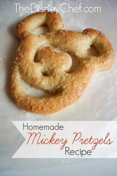 Mickey Pretzel Recip