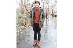 Taehoon Lee, 24, economics major at New York University, Chinatown (Photo: Jessica Lin)