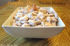 Pumpkin Pie Muddy Buddies - Whats Cooking Love?