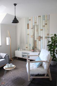 décoration gîte, décoration scandinave, ambiance pastel, ambiance déco douce, salon cosy, fauteuil fourrure