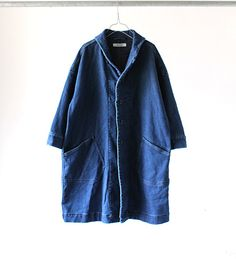 STRECH DENIM SAILOR COAT | BLOG|OMNIGOD