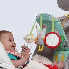 Babies Love To Travel With This Back Seat Activity Center. Your baby can get bored in a rear-facing seat, but they'll be #happy to go for a #drive with this fun ...