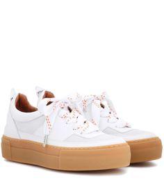 Ganni Sneakers Corinne aus Leder