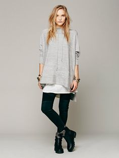 taking comfy clothes to another level. Free People Cashmere Hoodie, $528.00