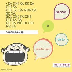 settimana Scioglilingua italiani: difficili ma divertenti giorno3 #nanarossa