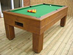 Used Outdoor Pool Tables