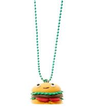 Burger and Fries BFF Necklace Set