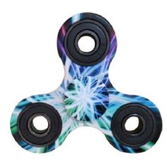 Fidget Spinner Multicolored Blue White Green ADHD Stress Relief New In Box #Unbranded