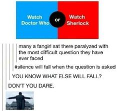 I didn't know whether to put this on the Sherlock board or the Doctor Who board, so it's going here.