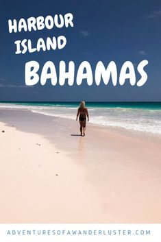 A day trip to Harbour Island from Nassau in the Bahamas is an absolute must! Check out why Harbour Island is becoming the Carribean's crown jewel! Harbour Island Bahamas, Bahama Mama, Pink Sand, Nassau, Day Trip, Wanderlust, Adventure, Beach, Outdoor