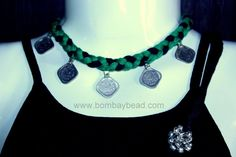 Bombay Bead by Sumita Acharya Headgear, Statement Jewelry, Necklace Set, Coins, Weaving, Beads, Unique, Earrings, Handmade