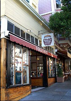 Indian Oven, the first Indian restaurant I ever set foot in. In the lower Haight in San Francisco.