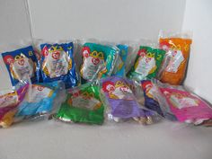 Ty Beanie Babies - 11 in This Complete Set From Mcdonalds Happy Meals- FREE SHIPPING by CellarDeals on Etsy