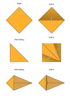 easy origami instructions lion
