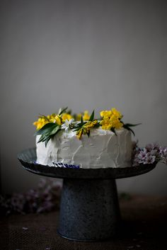 coconut tres leches cake by Beth Kirby | {local milk}, via Flickr. Full recipe. Scroll down a long way