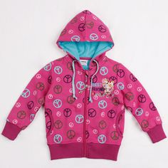 Baby Girl Autumn Long Sleeved Casual Zipper Red Hoodie Coat Girls Jacket Children Clothes and Kids Hoodies Jacket Coats Clothing //Price: $29.96 //     #baby