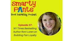 In episode 37 of the Smarty Pants Book Marketing podcast, NY Times bestselling romance author Roni Loren shares her secrets on how to build raving fans with Facebook groups.