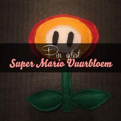 Ik vond een gave pin op Pinterest die beschreef hoe je een Super Mario Vuurbloem kunt naaien en ik probeerde hem uit! van: www.mizflurry.nl