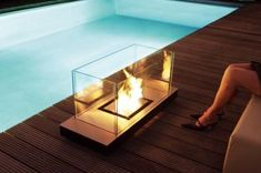 New Trend : Portable Fireplaces