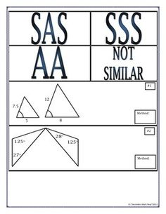 Slope Triangles Students are asked to use similar triangles to ...