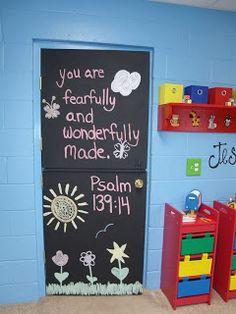 ♥ Just A Peek Into My Oh So Blessed Life ♥: Pinterest Inspired Church Preschool/Nursery