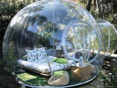 dormir dans une bulle ça vous dit ? pour cet #été tentez la bulle