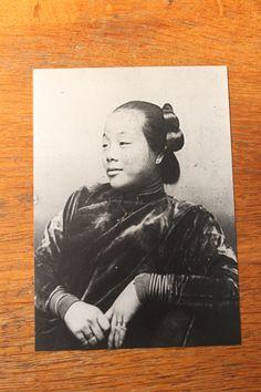 Unbekannte Frau aus Singapur, fotografiert von Jeanne Hébuterne (1898-1920) aus Paris