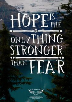 Hope is never doubting the days ahead. #Inspiration from #RecoveryCoachTraining