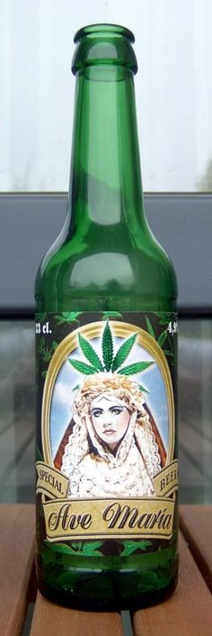 Cerveja Ave Maria Special Beer - Cervejaria Brauerei Nemo Namenlos. This looks like marijuana but I'm not sure PD
