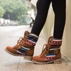 shoes combat boots indian boots brown shoes