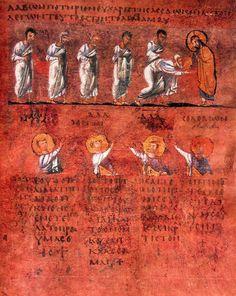 Calabria-Arte e Cultura-Codex Purpureus Rossanensis-Tav.7