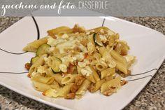 Zucchini and Feta Casserole   RainstormsandLoveNotes.com