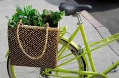 Detours Mogo Single Pannier. These single pannier baskets are woven from Pandan, a sustainable Asian grass, over a sturdy bamboo framework. The baskets are completely hand crafted, using only natural earth tone dyes that contrast beautifully with the raw grass in the final weave. $50.00