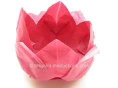 How to make paper napkin flowers lotus flowers napkins lotus origami tissue lotus folding instructions origami napkin lotus would be cute to put candy inside napkin and set on plate mightylinksfo