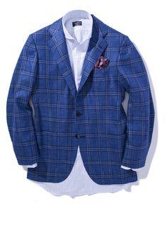 Kiton Toiano Blue Sport Coat