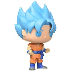 Super Saiyan God Super Saiyan Goku (Hot Topic Exclusive): Funko POP! x DragonBall Z - Resurrection F Vinyl Figure   1 FREE Official DragonBall Trading Card Bundle (097103) * Read more at the image link. (This is an affiliate link) #ActionToyFigures