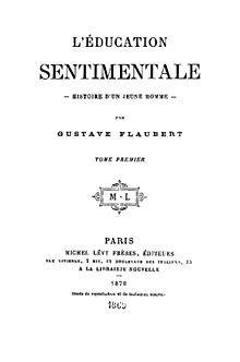 La educación sentimental - Wikipedia, la enciclopedia libre