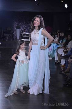 Mini Mathur at 'The Walk Of Pride', a fashion fundraiser by Amy Billimoria for Nargis Dutt memorial charitable trust. #Bollywood #Fashion #Style #Beauty #WAGS